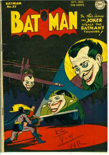Batman 37 - Jerry Robinson