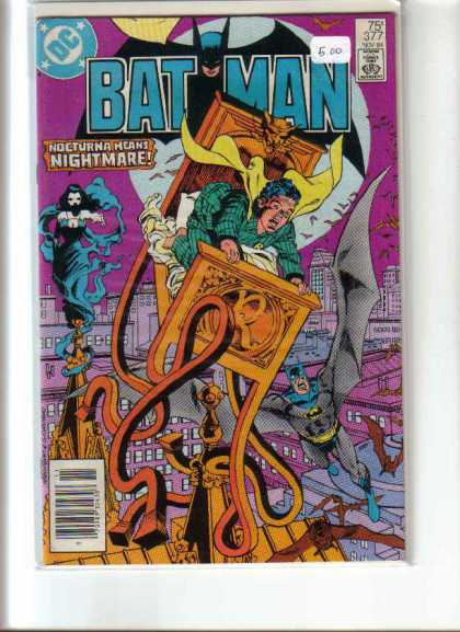 Batman 377 - Dc - Nocturna - Nightmare - Flying - Bed - Dick Giordano