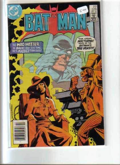 Batman 378 - Mad Hatter - Dc - Comics Code - Woman - Nocturna - Dick Giordano
