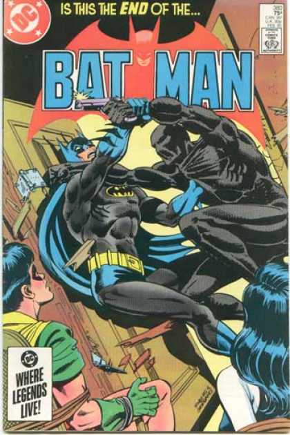 Batman 380 - Door - Door Hinge - Blackman - Purple Gun - Robin Tied To Chair - Dick Giordano