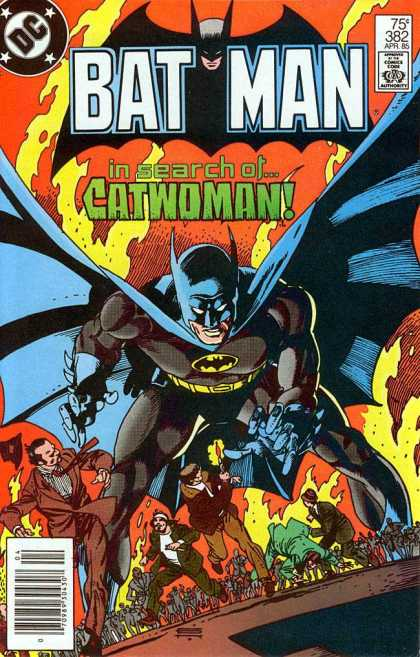 Batman 382 - Dc - Catwoman - Superhero - Cape - Chaos