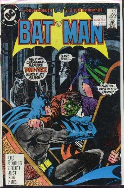 Batman 398 - Dc - Approved By The Comics Code Authority - Fight - Kids - Tom