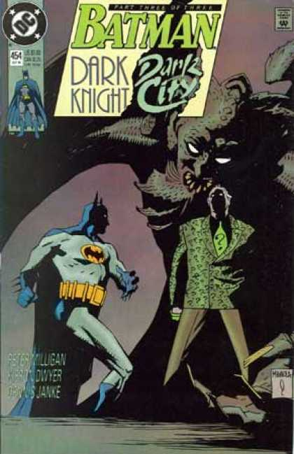 Batman 454 - Batman - Gargoyle - Joker - Darkness - Dc Comics - Mike Mignola