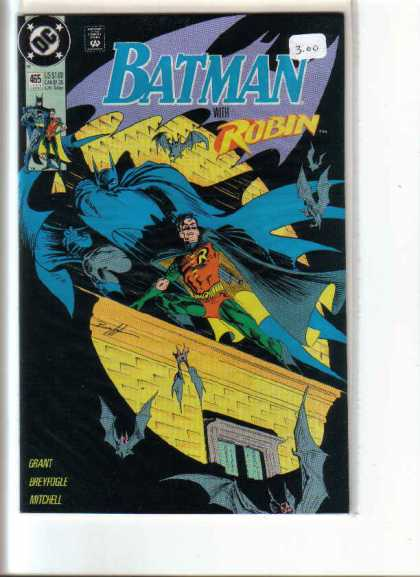 Batman 465 - Dc - Superhero - Searchlight - Bats - Robin - Norm Breyfogle