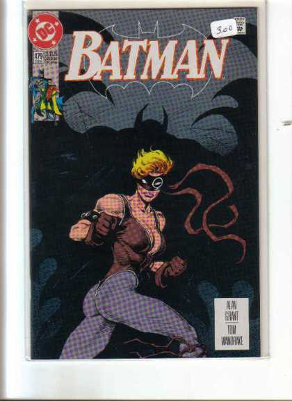 Batman 479 - Approved By The Comics Code - Robin - Woman - Shadow - Gun