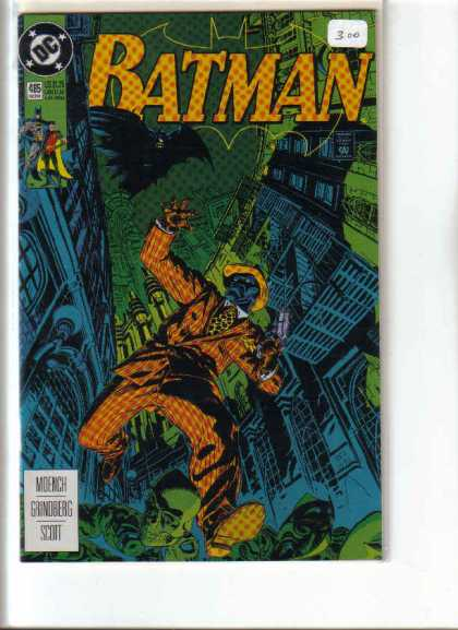 Batman 485 - Batman - Dc - Moench - Grindberg - Scott - Michael Golden