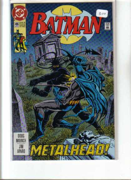Batman 486 - Metal Head - Super Man - With Man - Unknown Image - Home - Jim Aparo