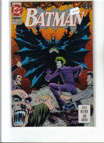 Batman 491 - Dc - Batman - Costume - Doug Moench - Jim Apahu