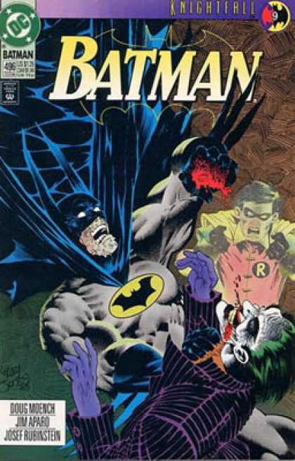 Batman 496 - Superhero - Batman - Man - Robinhood - Joker