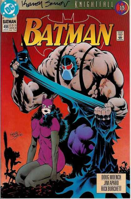Batman 498 - Catwoman - Knightfall - Black Cat - Doug Moench - Jim Aparo