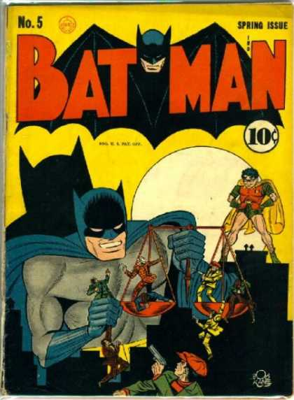 Batman 5 - Dynamic Duo - The Joker - Gotham City - Robin - Crime Fighters - Bob Kane