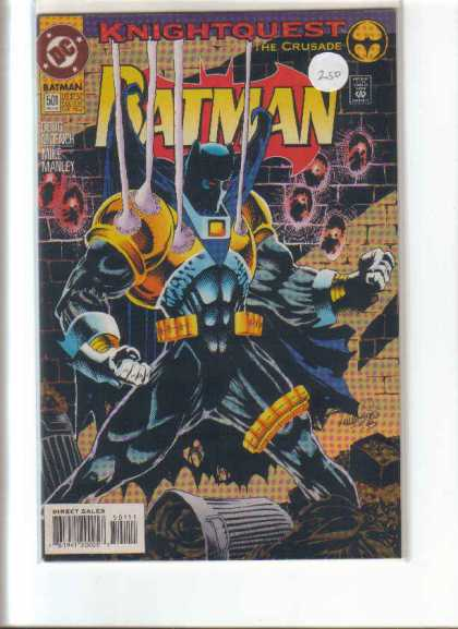 Batman 501 - Knightquest - The Crusade - Lights - Hands - Wall Bricks