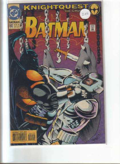 Batman 502 - Dc Comics - Knightquest - Chain - Machete - Helmet