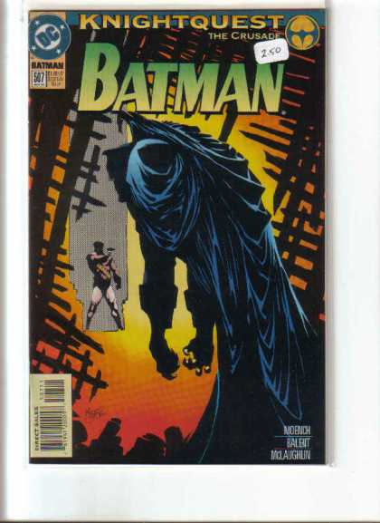 Batman 507 - Batman - Knightquest - The Crusade - Dc Comics - Dead Man Hanging