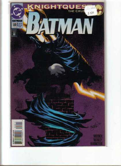 Batman 508 - Knightquest - Chimney - Crusades - The Batman - Dark Knight