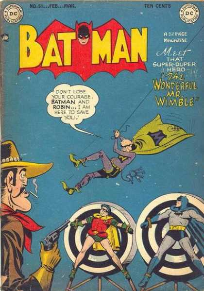 Batman 51 - Batman - Dc Comics - Robin - The Wonderful Mr Wimble - Revolver