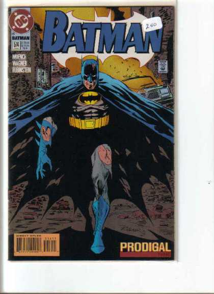 Batman 514 - Dark Knight - Bruce Wayne - Dc Comics - Prodigal - Wagner Book - Josef Rubinstein