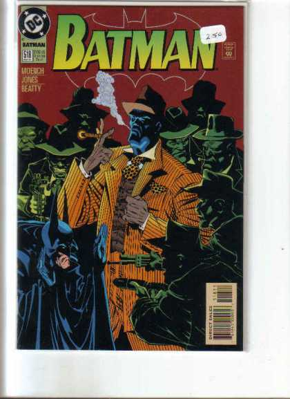 Batman 518 - Smoke - Cigar - Yellow Suit - Beatty - Gangster