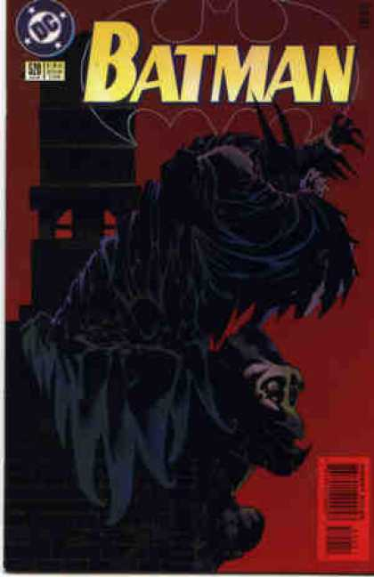 Batman 520 - Stone Building - Gorilla - Tower - Black Cape - Claws
