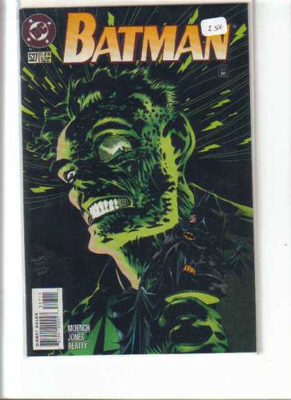 Batman 527 - Dc - Teeth - Jones - Beatty - Sunken Eyes