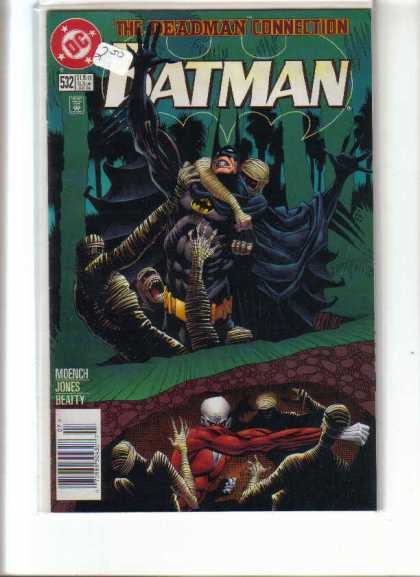 Batman 532 - Batman - Mummies - Black Cape - Green Trees - Dc