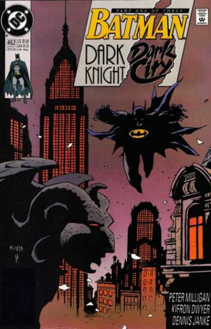 Batman 542 - Dark Knight - Dark City - Gargoyle - Peter Milligan - Kifron Dwyer
