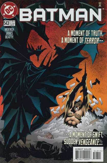 Batman 543 - Moench - Jones - Beatty - A Moment Of Truth A Moment Of Terror - A Moment Of Swift Sudden Vengeance