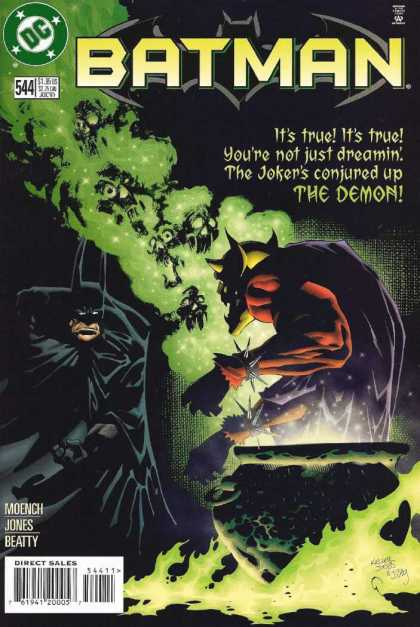 Batman 544 - The Joker - The Demon - The Dark Knight - Dc Comics - Cauldron