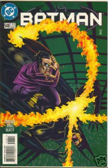 Batman 548 - Super-hero - Fire - Water - Beatty - Jones