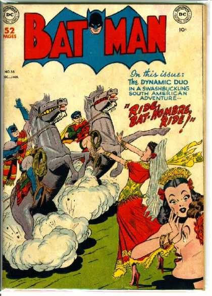 Batman 56 - Ride - Bat-hombre - Superboy - Riding - Horses