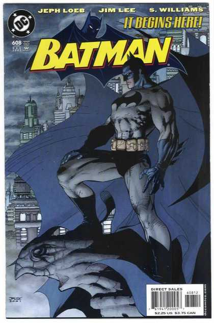 Batman 608 - It Begins Here - Dc Comics - Gargoyle - Jeph Loeb - Jim Lee - Alex Sinclair, Jim Lee