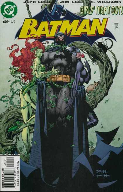 Batman 609 - Flight At Night - Fearless Flight - No Fear At Nightfall - Dare By Night - No Worry Gals - Alex Sinclair, Jim Lee