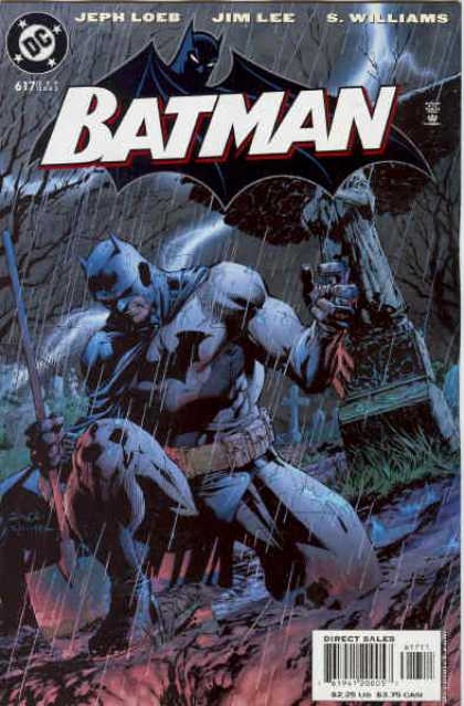 Batman 617 - Jeph Loeb - Jim Lee - S Williams - Dc - Dark - Alex Sinclair, Jim Lee