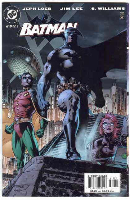 Batman 619 - Alex Sinclair, Jim Lee