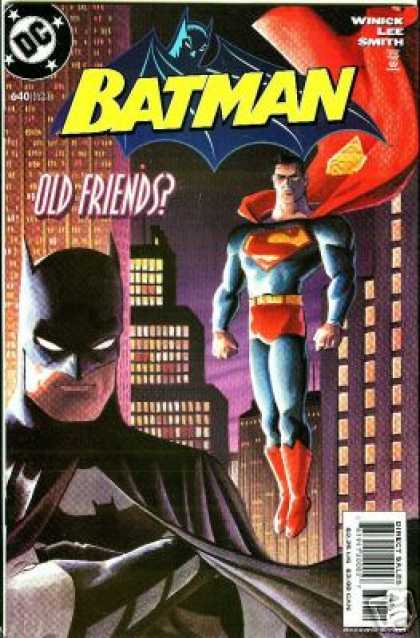 Batman 640 - Old Friends - Superman - Dc - Lee - Smith - Matt Wagner