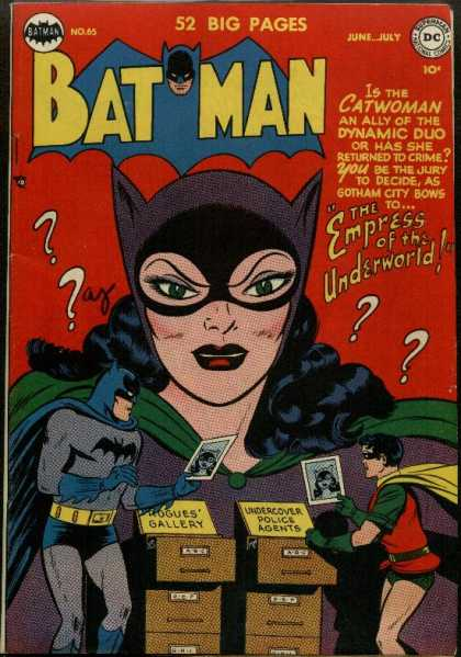 Batman 65 - Catwoman - Ally - Dynamic Duo - Gotham City - Crime