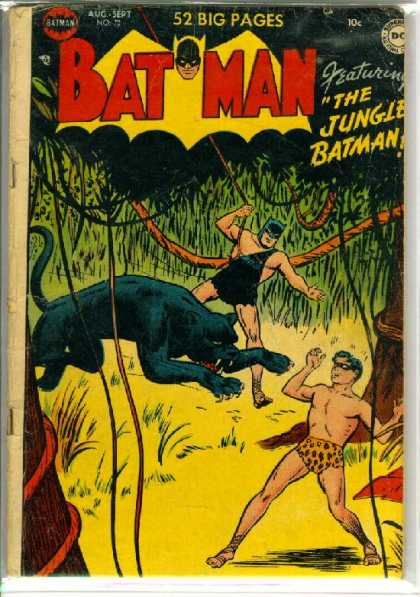 Batman 72 - The Jungle - Black Panther - Robin - August - Dc