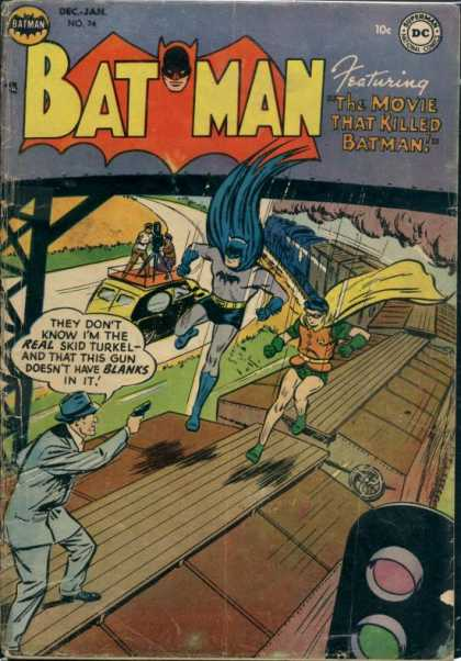 Batman 74 - Robin - Superman - Featuring The Movie That Killed Batman - Superhero - Man