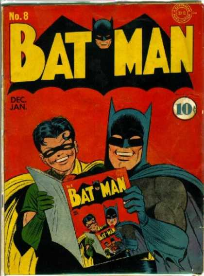 Batman 8 - Robin - Costume - Superhero - Magazine - Number 8