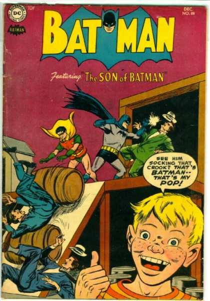 Batman 88 - Robin - Barrells - Blond Boy - Freckles - Warehouse - Sheldon Moldoff