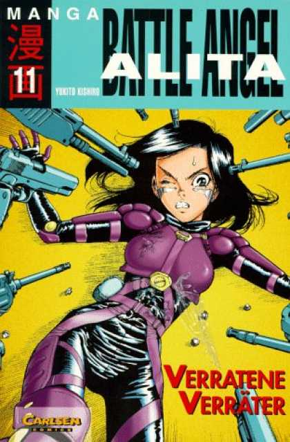Battle Angel Alita 6 - Guns - Alita - Angel - Anime - Manga