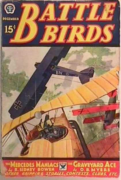 Battle Birds - 12/1933