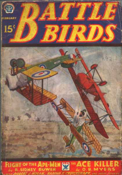 Battle Birds - 2/1934