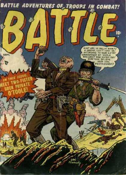 Battle 4 - Trenches - War - Guns - Combat Troops - Army