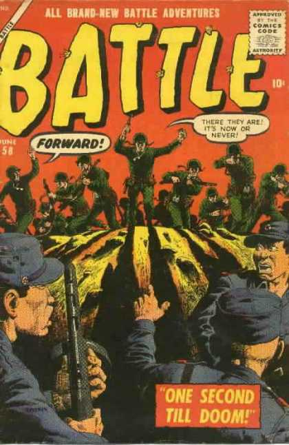 Battle 58 - Its Now Or Never - Soldier - Adventure - One Second Till Doom - Charge
