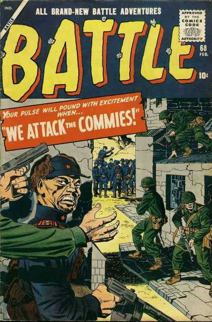 Battle 68 - Battle Adventures - Attack The Commies - War - Cold War - Soldiers