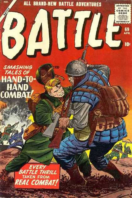 Battle 69 - Hand-to-hand Combat - Soldiers - Thrill - Adventure - Struggle