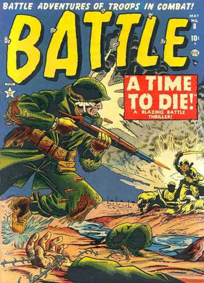 Battle 8 - Troops - Combat - A Time To Die - Rifle Firing - Running