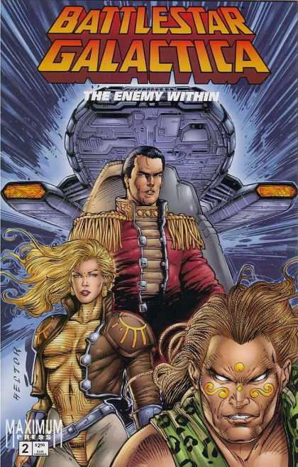 Battlestar Galactica 2 - The Enemy Within - Space - Maximum Press - Captain - Women - Rob Liefeld