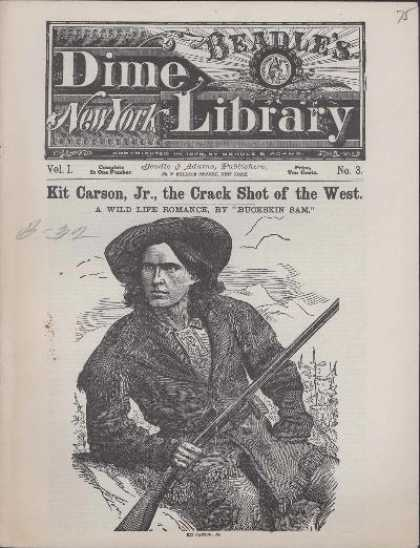 Beadle's Dime Library 1